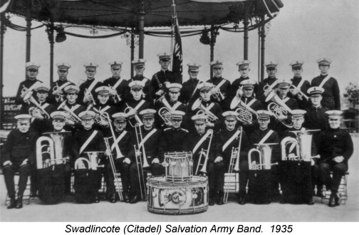 salvation army 1935 swadlincote band
